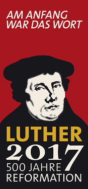 Logo der Reformationsdekade (Quelle: Luther2017)